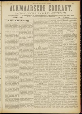 Alkmaarsche Courant 1916-08-10