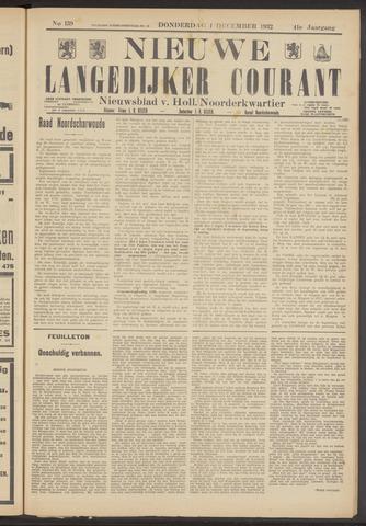 Nieuwe Langedijker Courant 1932-12-01