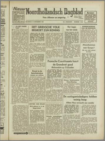 Nieuw Noordhollandsch Dagblad : voor Alkmaar en omgeving 1946-09-30
