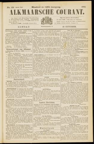 Alkmaarsche Courant 1903-10-18