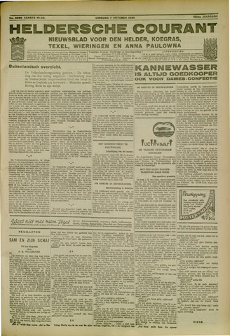 Heldersche Courant 1930-10-07