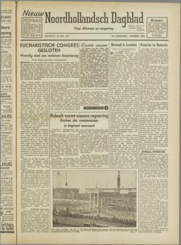 Nieuw Noordhollandsch Dagblad : voor Alkmaar en omgeving 1946-06-24