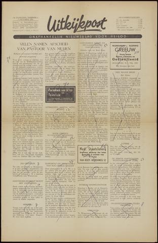 Uitkijkpost : nieuwsblad voor Heiloo e.o. 1956-10-05