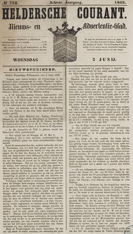 Heldersche Courant 1868-06-03