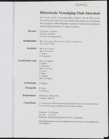 De Groene Valck 2002-01-01