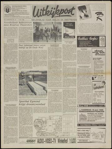 Uitkijkpost : nieuwsblad voor Heiloo e.o. 1989-06-07