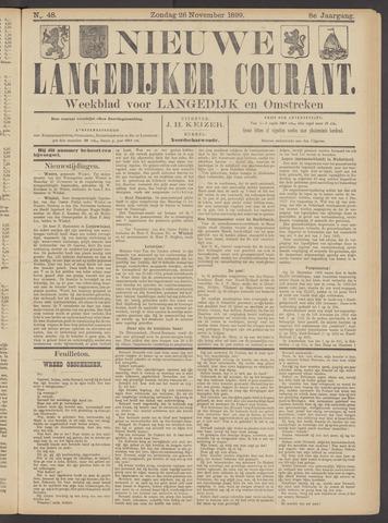 Nieuwe Langedijker Courant 1899-11-26