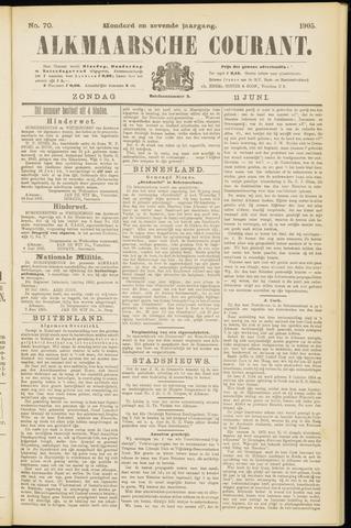 Alkmaarsche Courant 1905-06-11