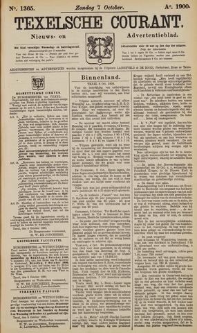 Texelsche Courant 1900-10-07