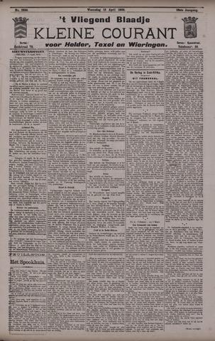 Vliegend blaadje : nieuws- en advertentiebode voor Den Helder 1900-04-18