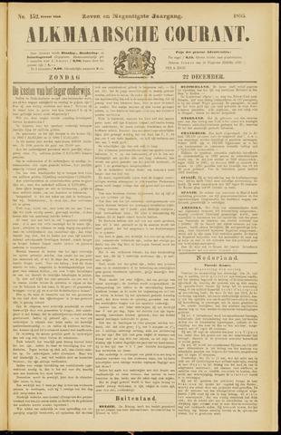 Alkmaarsche Courant 1895-12-22