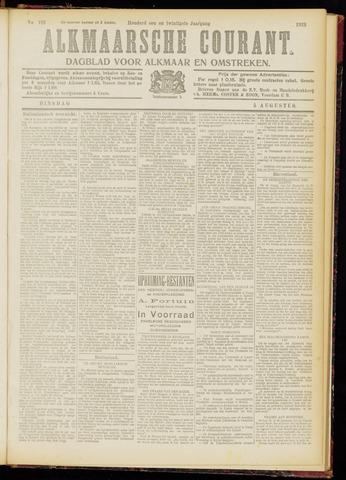 Alkmaarsche Courant 1919-08-05
