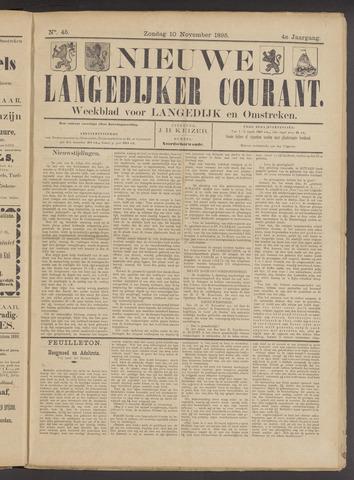 Nieuwe Langedijker Courant 1895-11-10