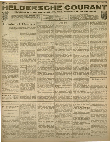 Heldersche Courant 1934-05-17