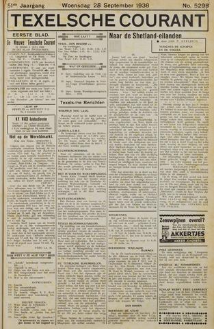 Texelsche Courant 1938-09-28