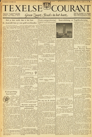 Texelsche Courant 1952-10-08