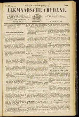 Alkmaarsche Courant 1900-02-07