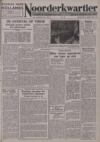 Dagblad voor Hollands Noorderkwartier 1941-12-22
