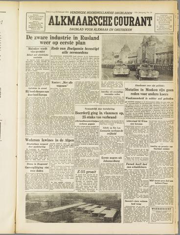 Alkmaarsche Courant 1955-02-10