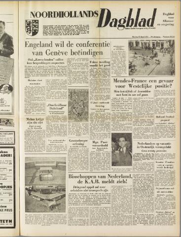 Noordhollands Dagblad : dagblad voor Alkmaar en omgeving 1954-06-15
