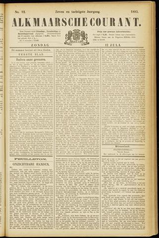 Alkmaarsche Courant 1885-07-12