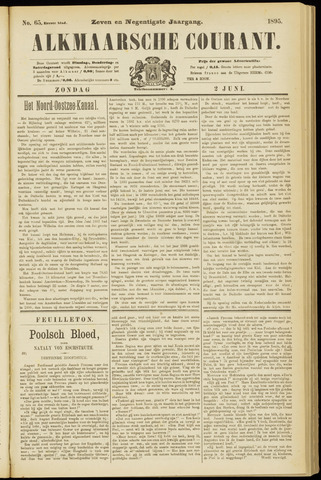 Alkmaarsche Courant 1895-06-02