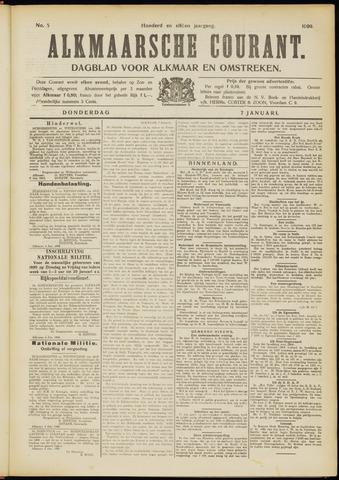 Alkmaarsche Courant 1909-01-07
