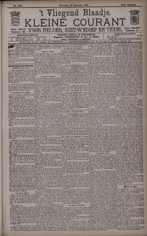 Vliegend blaadje : nieuws- en advertentiebode voor Den Helder 1894-09-26