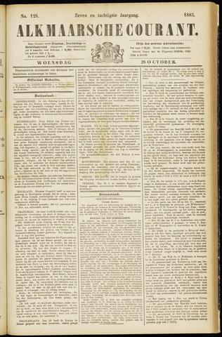 Alkmaarsche Courant 1885-10-28