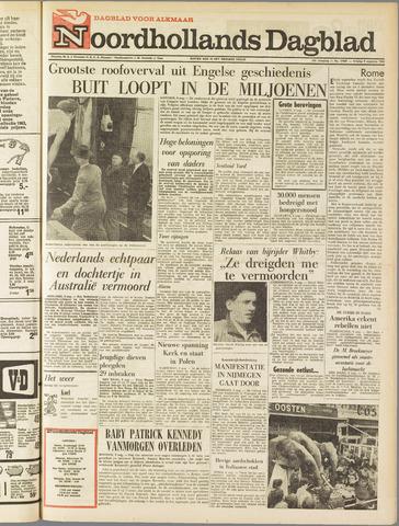 Noordhollands Dagblad : dagblad voor Alkmaar en omgeving 1963-08-09