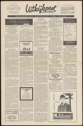 Uitkijkpost : nieuwsblad voor Heiloo e.o. 1966-09-01