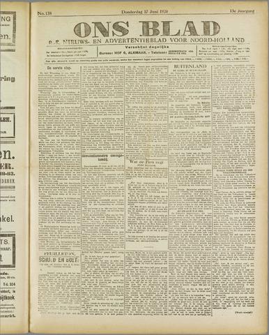 Ons Blad : katholiek nieuwsblad voor N-H 1920-06-17