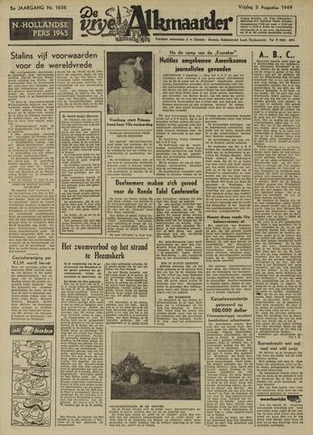 De Vrije Alkmaarder 1949-08-05