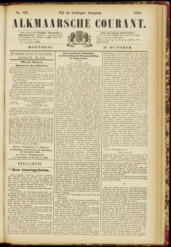 Alkmaarsche Courant 1883-10-24