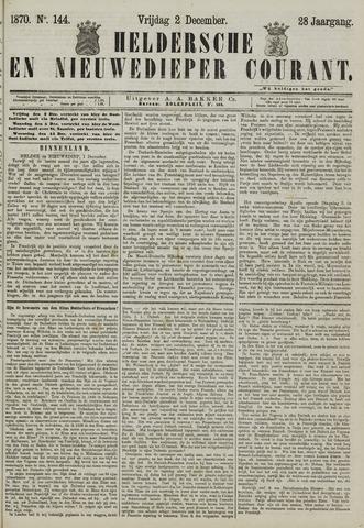Heldersche en Nieuwedieper Courant 1870-12-02