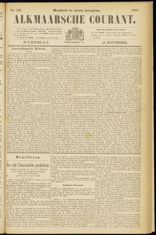 Alkmaarsche Courant 1899-11-15
