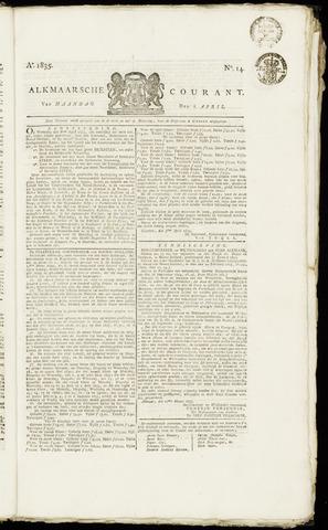 Alkmaarsche Courant 1835-04-06