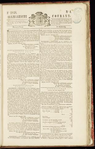 Alkmaarsche Courant 1848-01-03