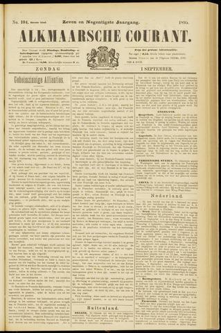Alkmaarsche Courant 1895-09-01