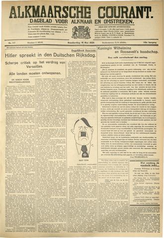 Alkmaarsche Courant 1933-05-18