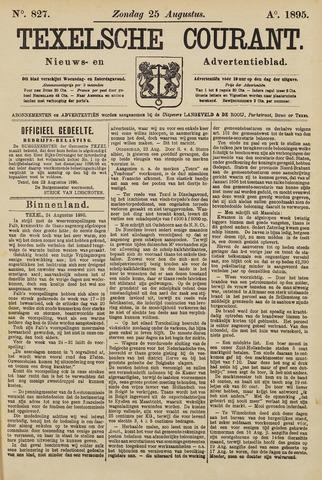 Texelsche Courant 1895-08-25
