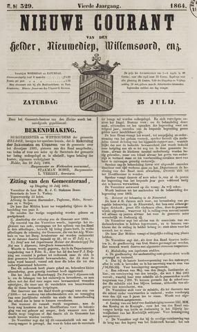 Nieuwe Courant van Den Helder 1864-07-23