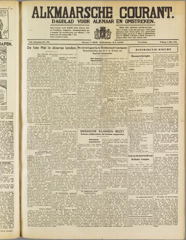 Alkmaarsche Courant 1941-05-02