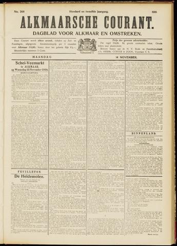 Alkmaarsche Courant 1910-11-14