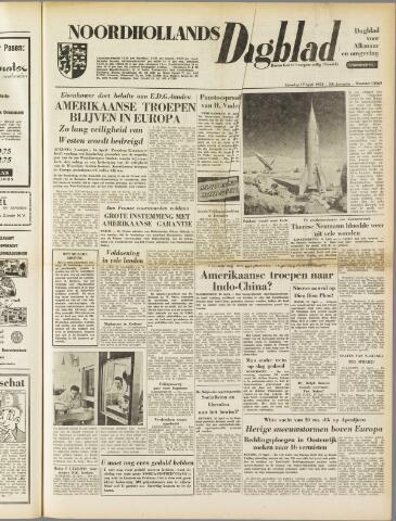 Noordhollands Dagblad : dagblad voor Alkmaar en omgeving 1954-04-17