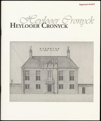 Heylooer Cronyck 2011-08-01