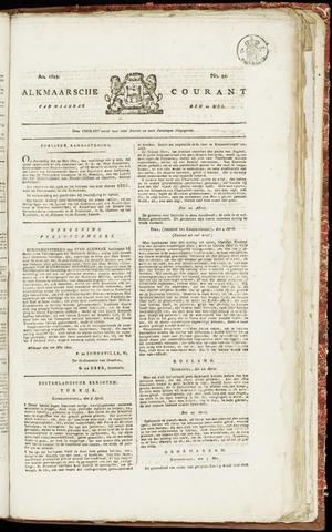 Alkmaarsche Courant 1822-05-20