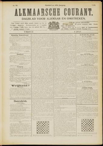 Alkmaarsche Courant 1909-07-02