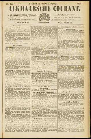 Alkmaarsche Courant 1902-11-02