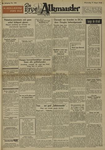 De Vrije Alkmaarder 1948-03-17